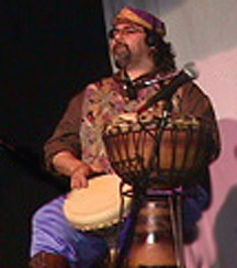 Dav'id on Darbuka