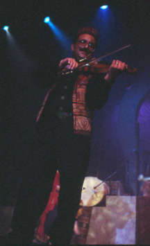 Farzad on Violin